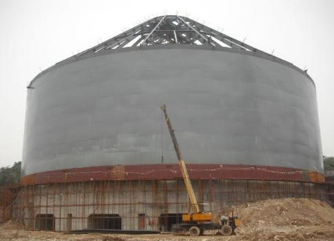 大型鋼板倉,大型鋼板庫建造公司